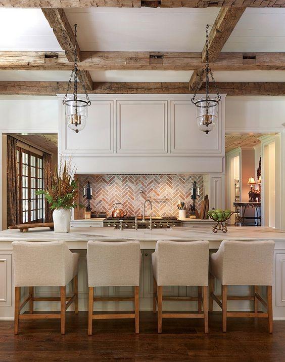 elegant rustic kitchen