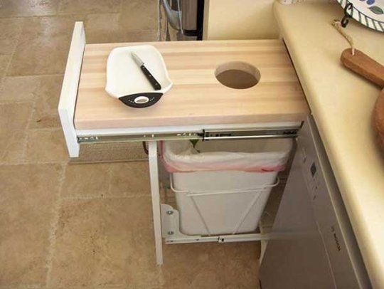 pull out chopping board