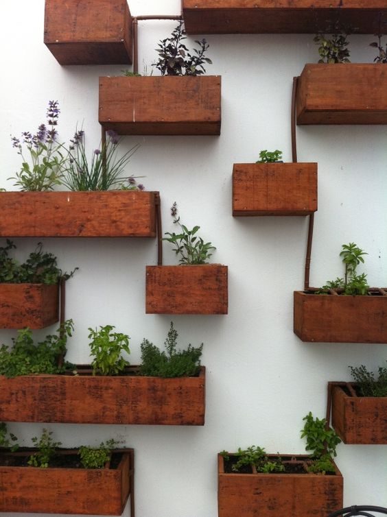 деревянные плантаторы коробки