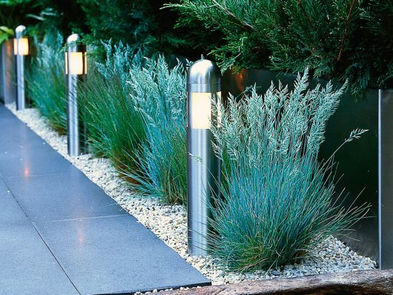 stainless steel light posts