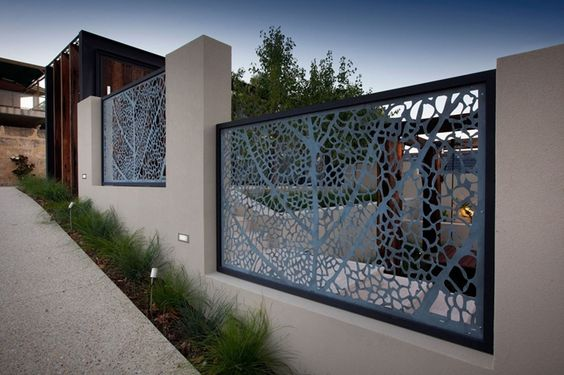 etched metal screen panels