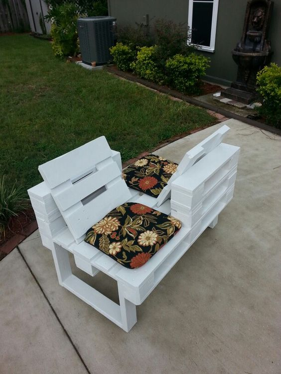 two seater garden chair