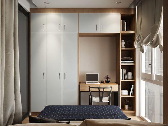 tall closets small bedroom