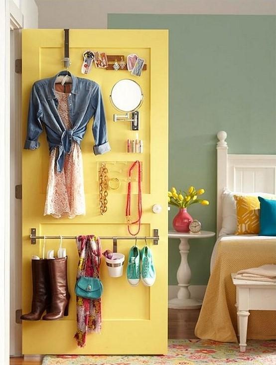 closet door storage organiser