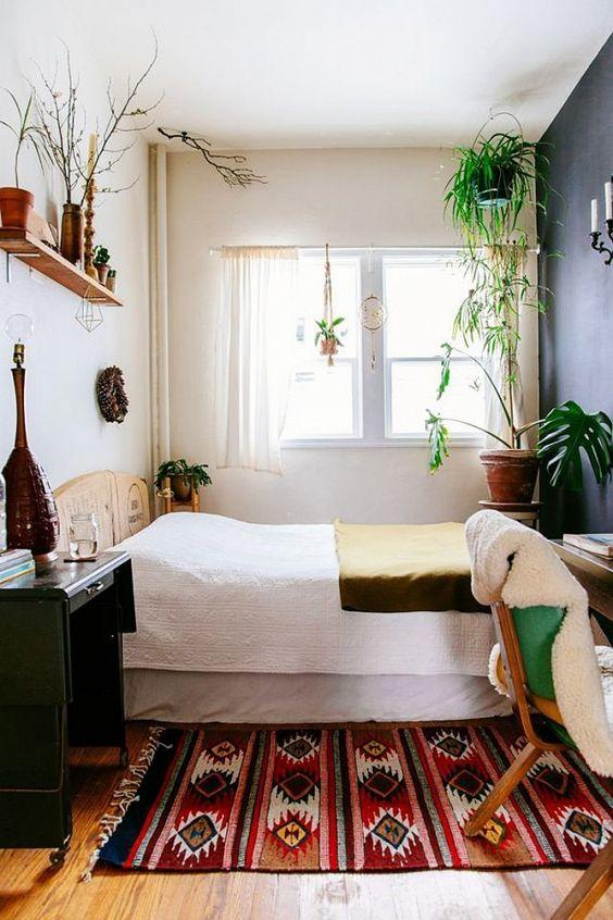 bright small bedroom