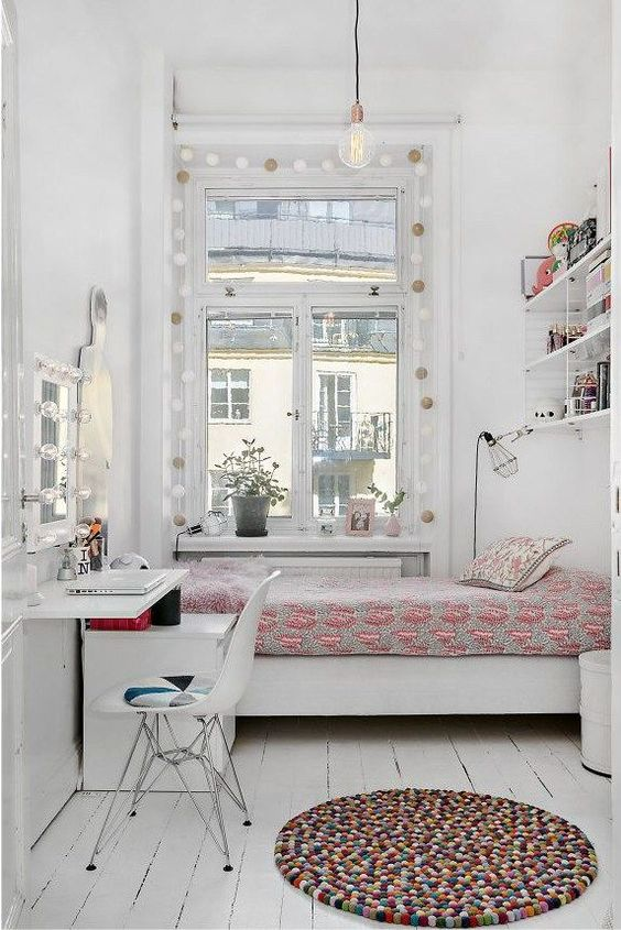 small white bedroom