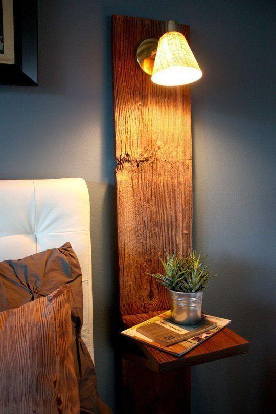 modern wall nightstand