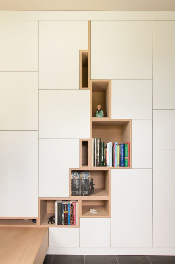 modern built in cabinets