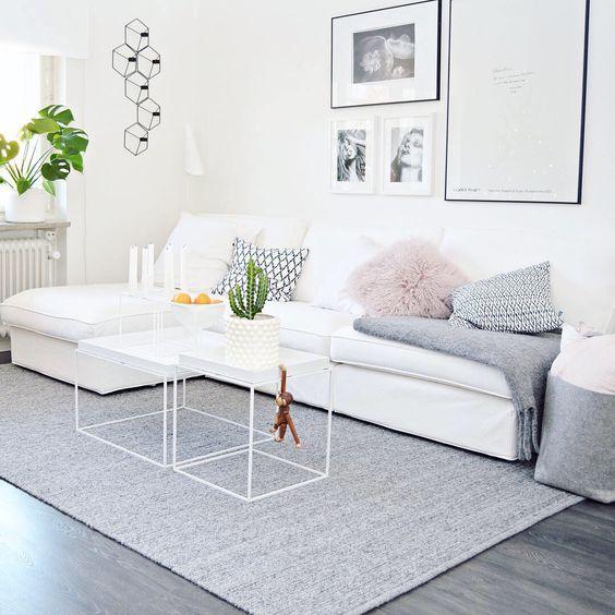 bright and light modern living room