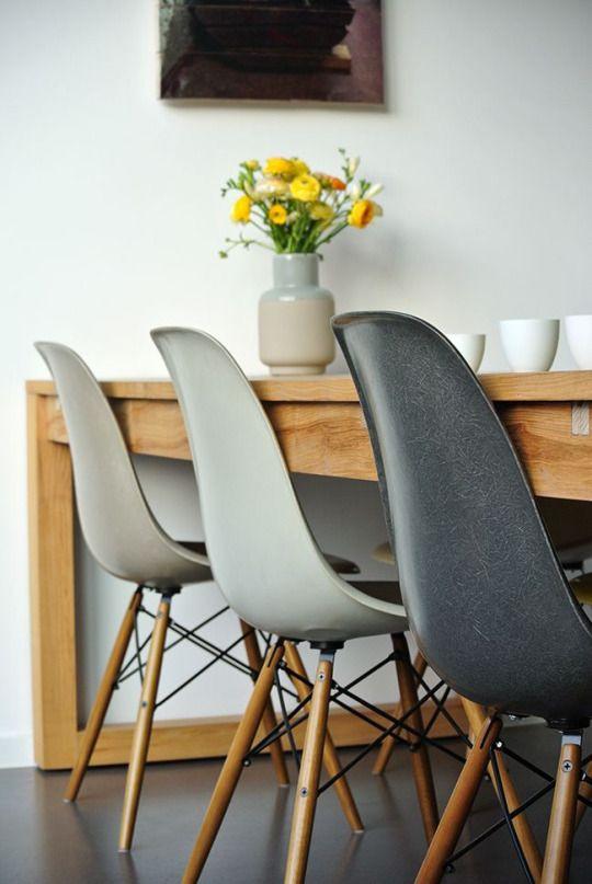 Scandinavian bucket chairs