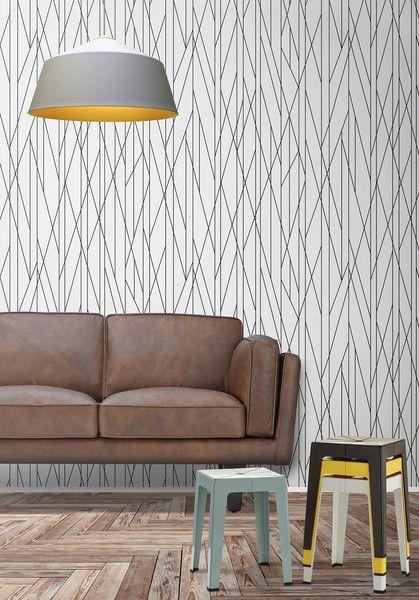 black and white wall pattern prints