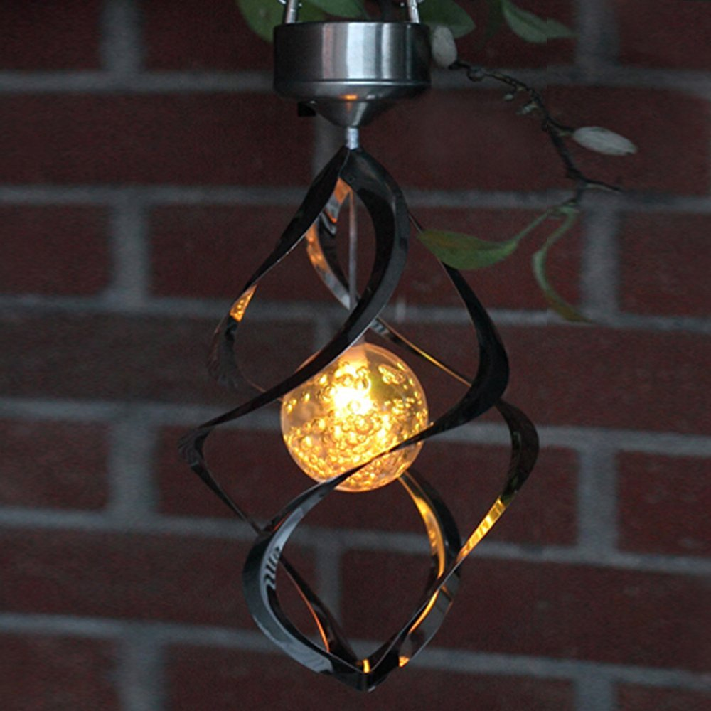 rotating outdoor lawn light