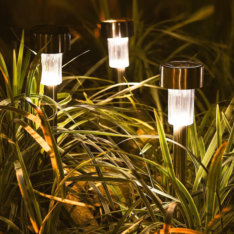 landscape outdoor stake lights