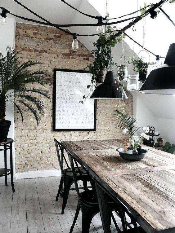 greenhouse modern dining room