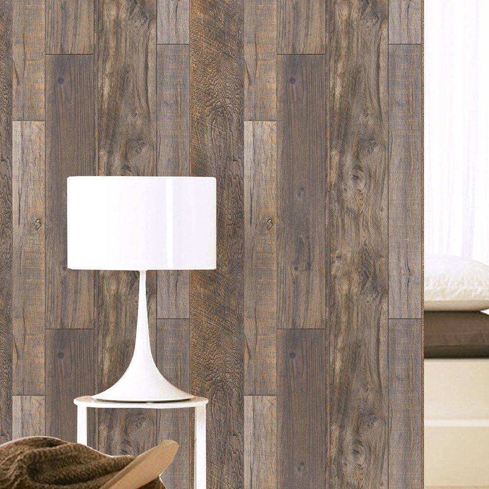 barnwood wallpaper design for home