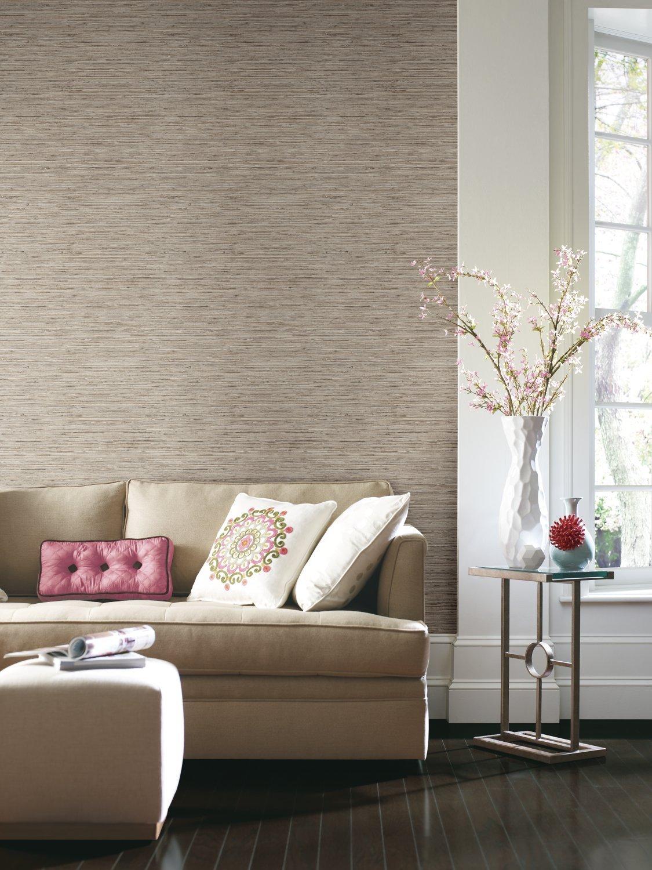 grasscloth wallpaper design for home