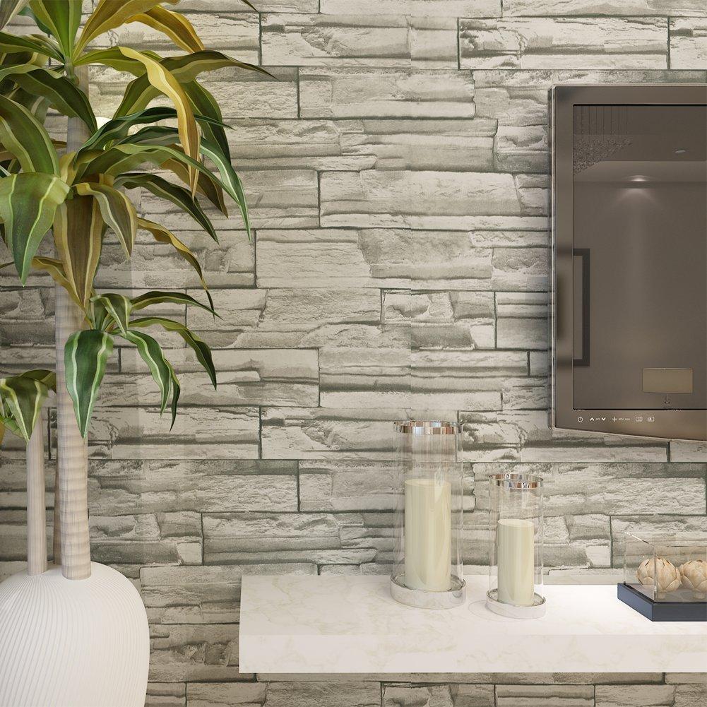 brick wallpaper for home
