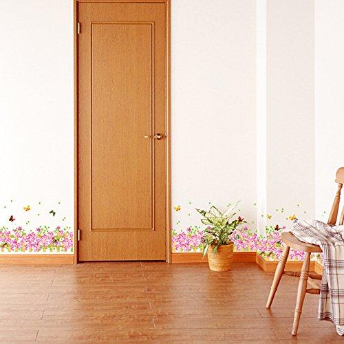garden themed wallpaper for home
