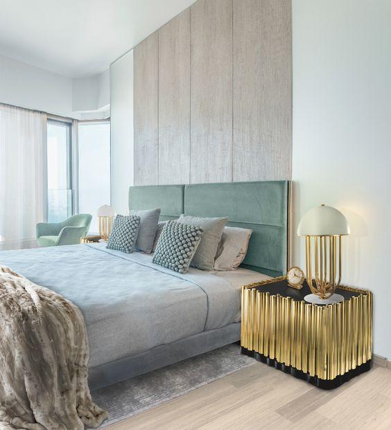 opulent master bedroom