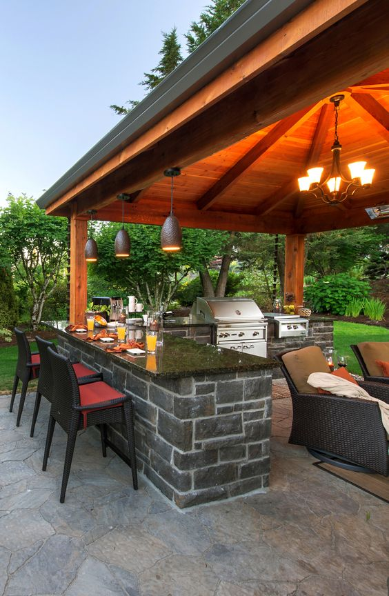 45 Exceptional Outdoor Kitchen Ideas