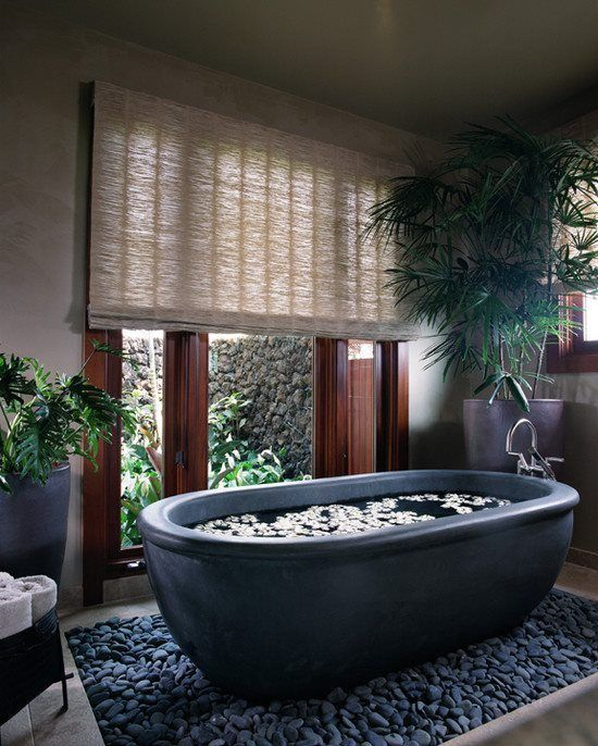 spa inspired bathroom