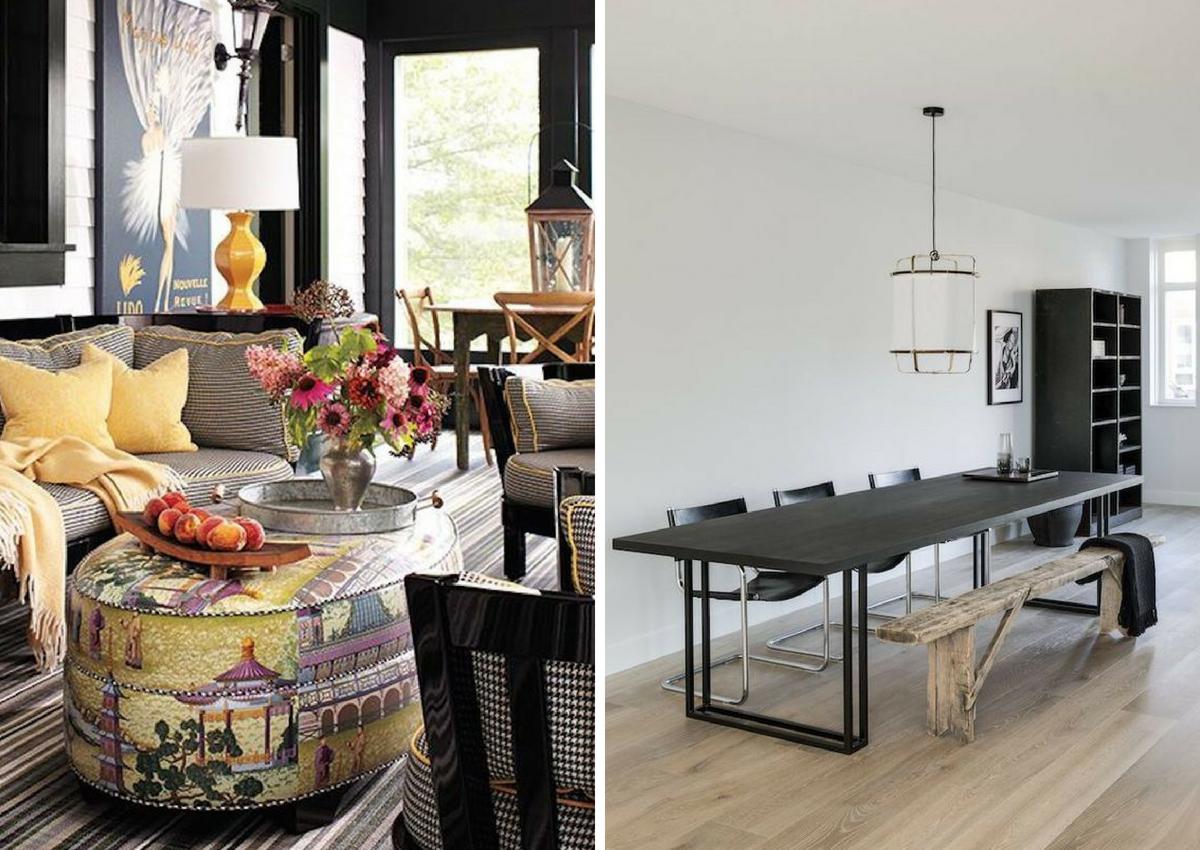 maximalist furniture vs minimalist furniture