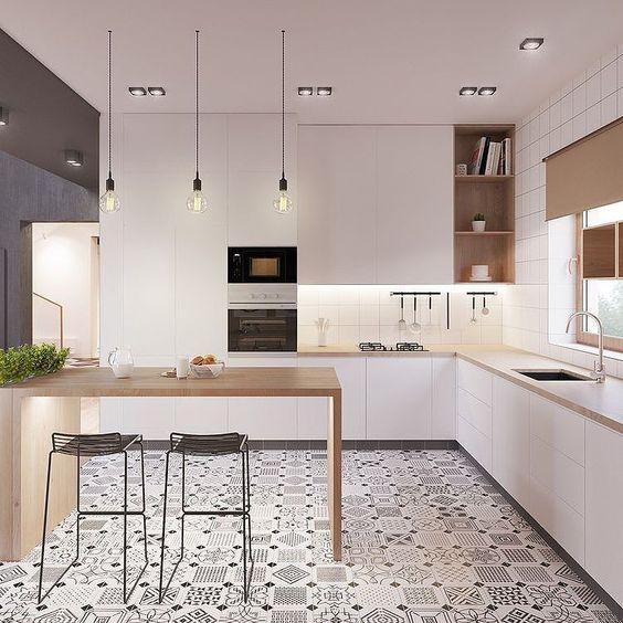 charming minimalist kitchen