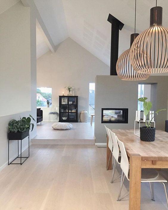 rustic minimalist interiors