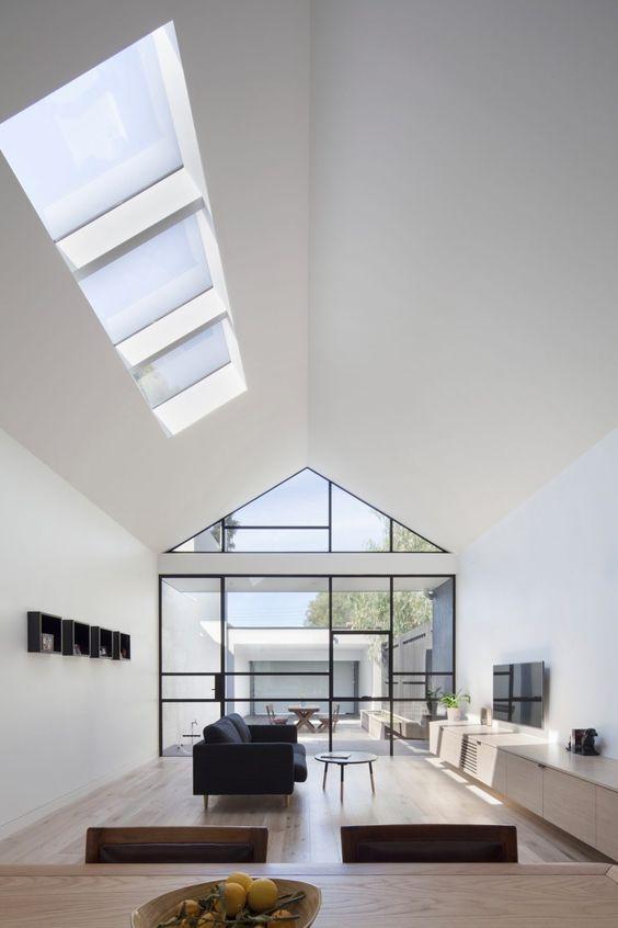 modern minimalist interiors