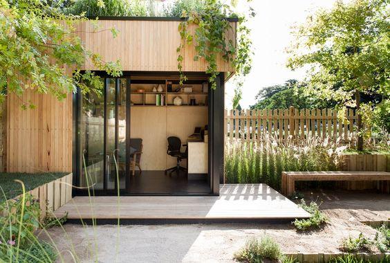 corner garden office