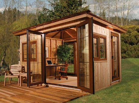 small backyard office