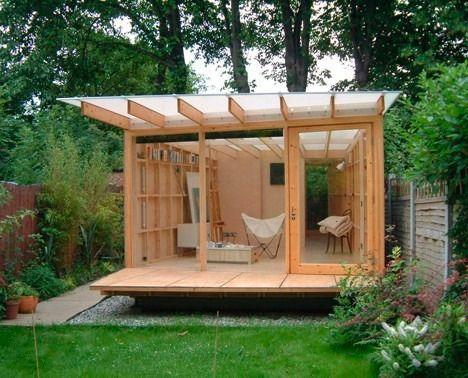 artist's garden studio