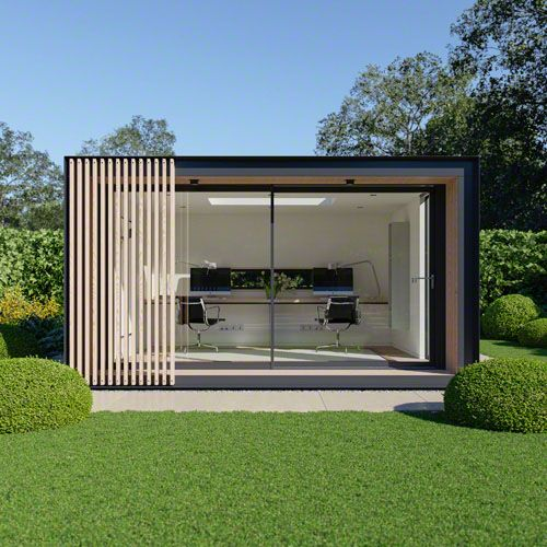 modern backyard office