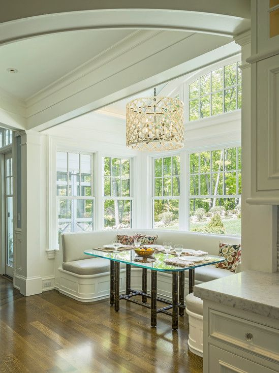 formal breakfast nook