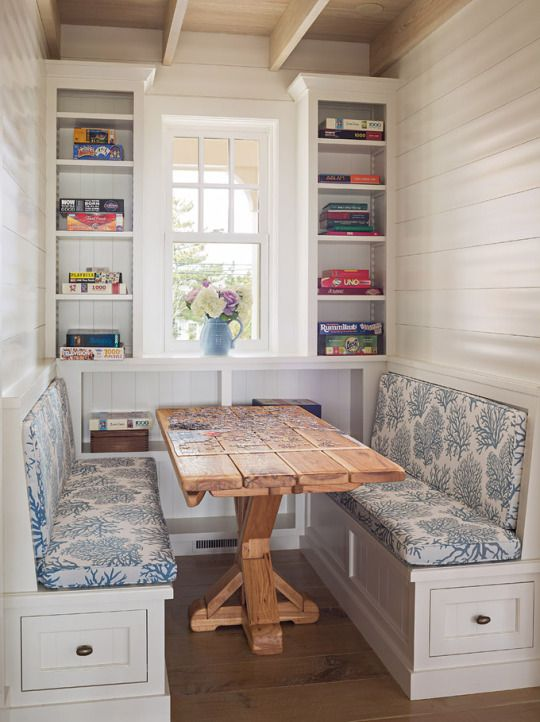 farmhouse breakfast booth