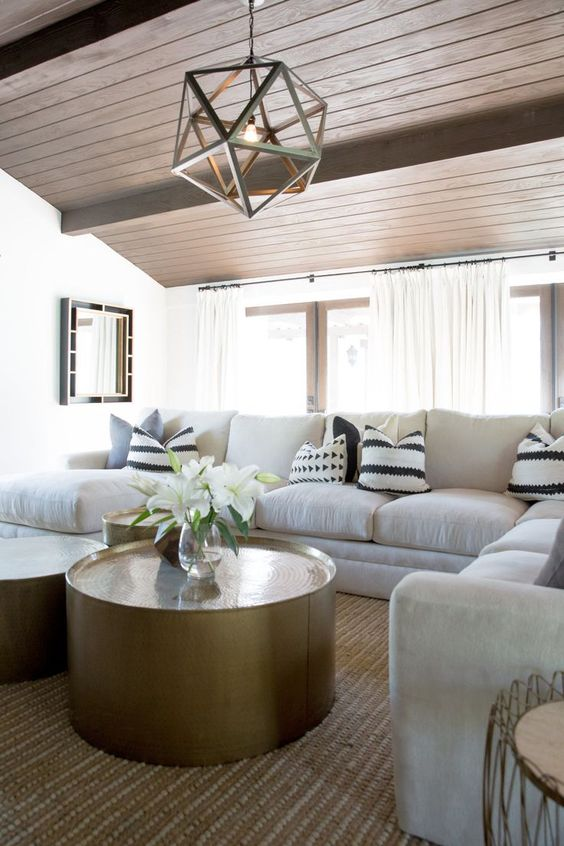 cosy and comfy family room