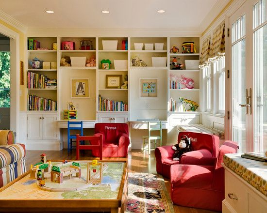 study and family room