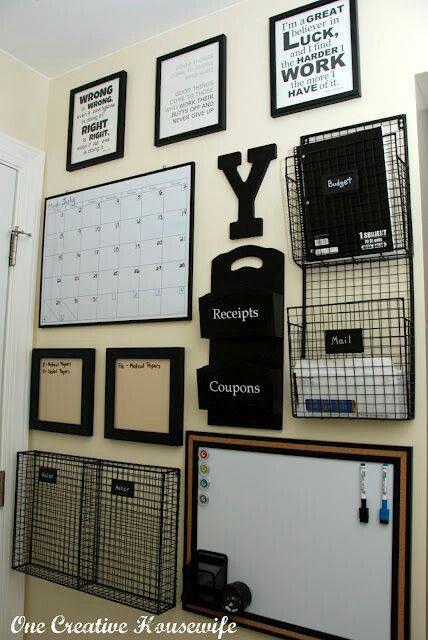 organiser wall