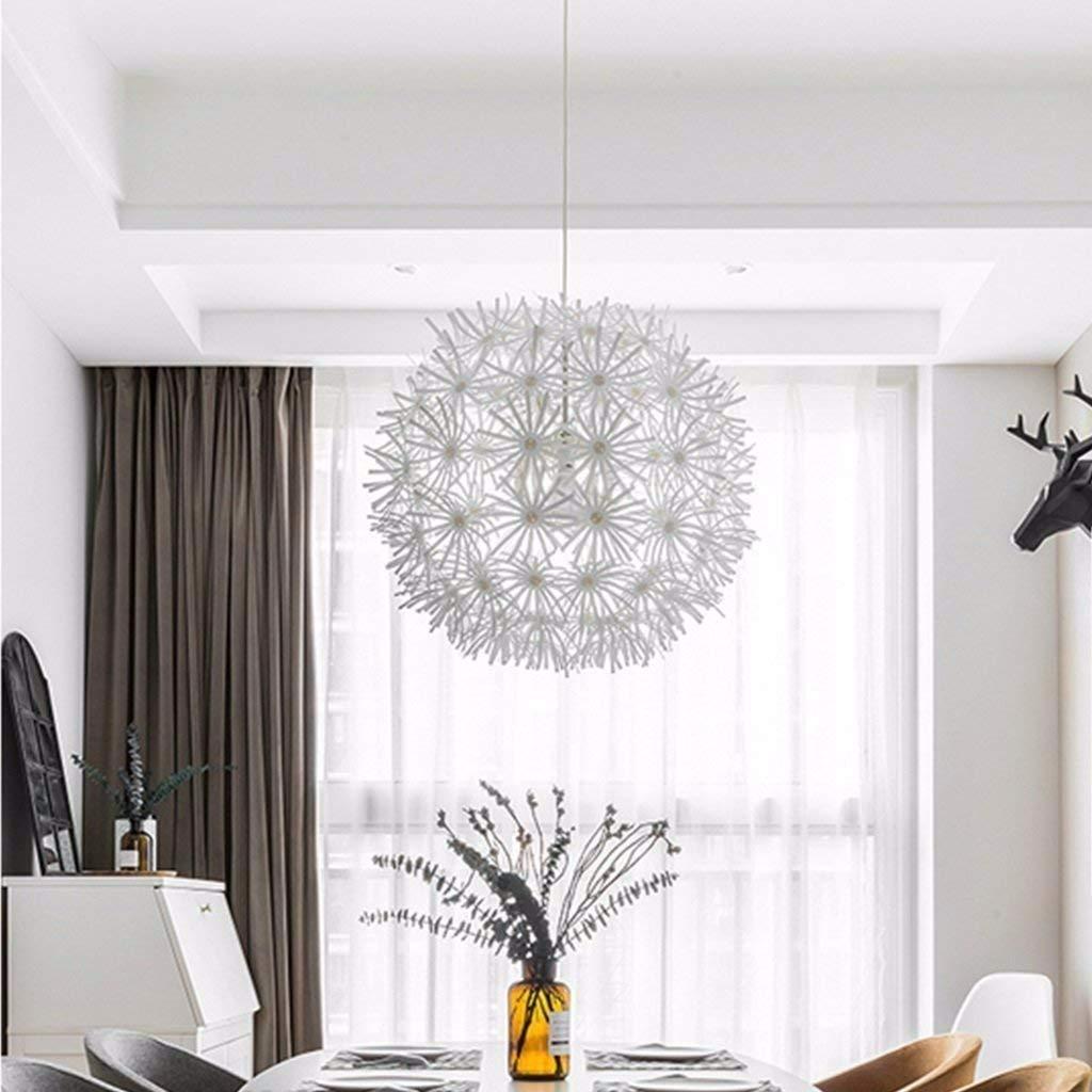 round white chandelier