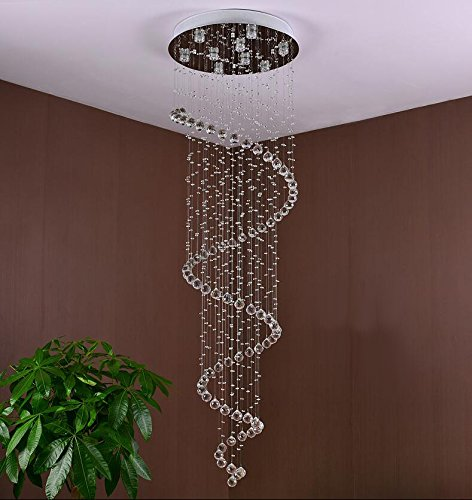 glass crystal chandelier