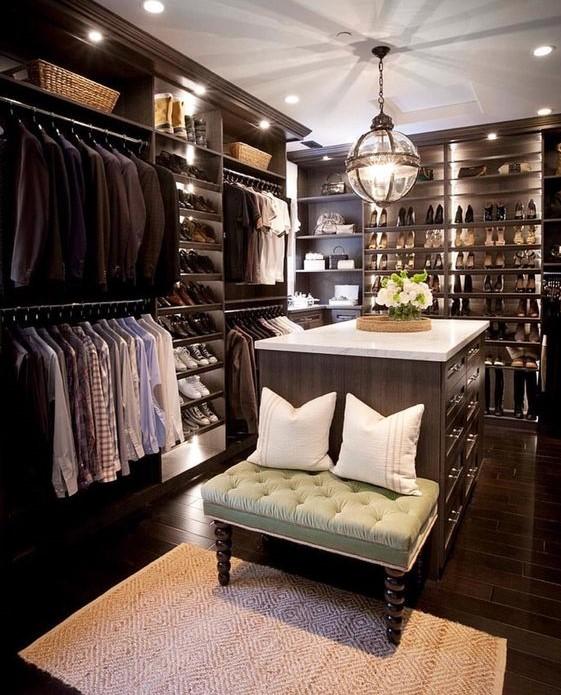 elegant classic closet