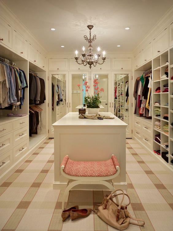 pretty walkin closet