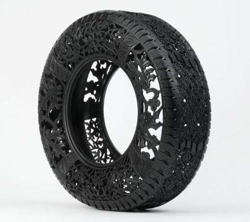 etched tire