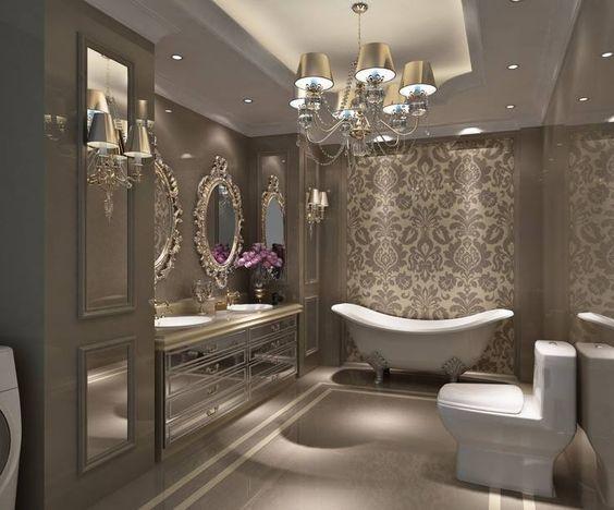 classic elegant bathroom