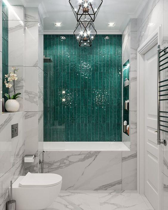 elegant and luxurious bathroom