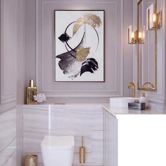 elegant luxurious bathroom