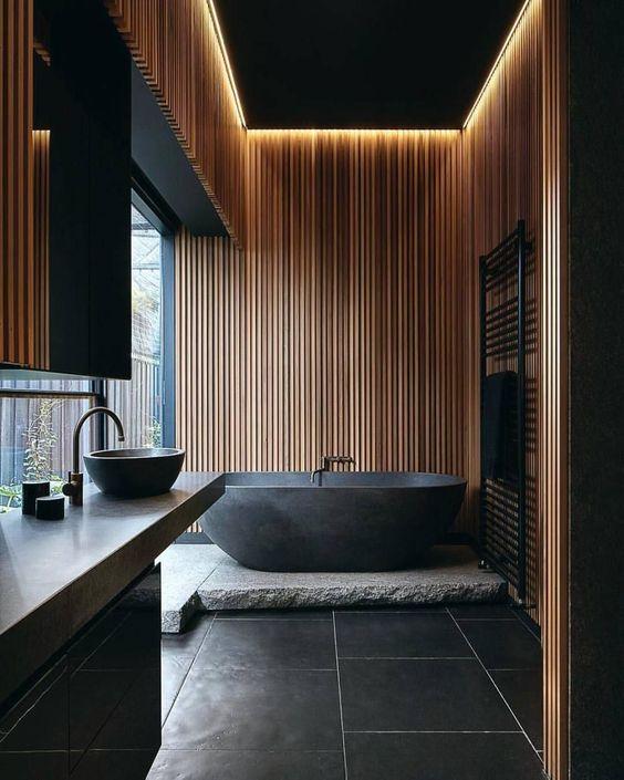 modern zen bathroom