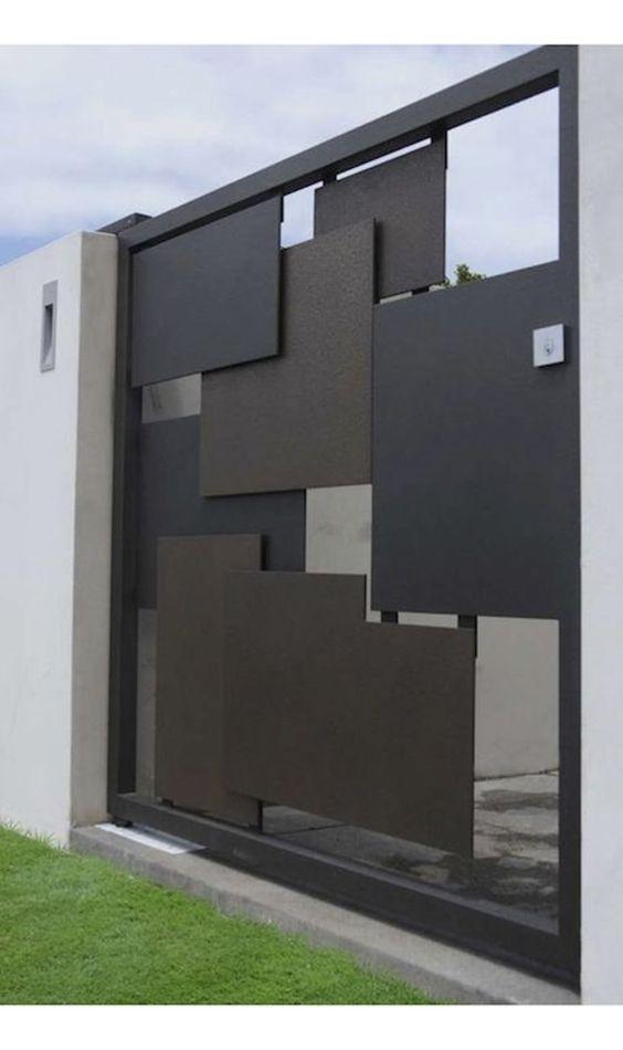metal panel gate