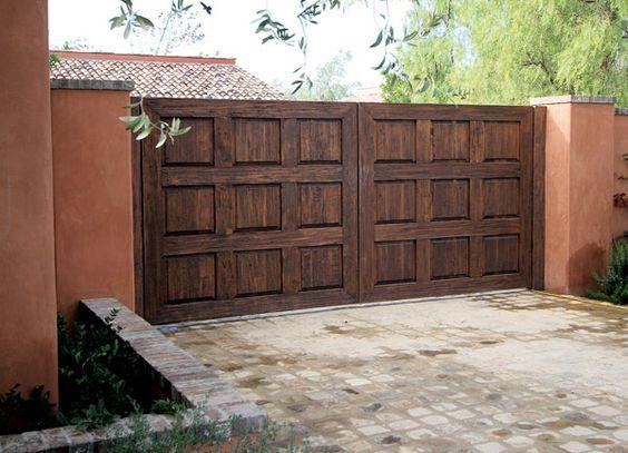 classic wood gate