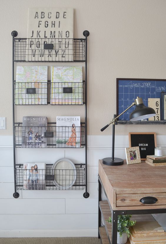 farmhouse inspired home office